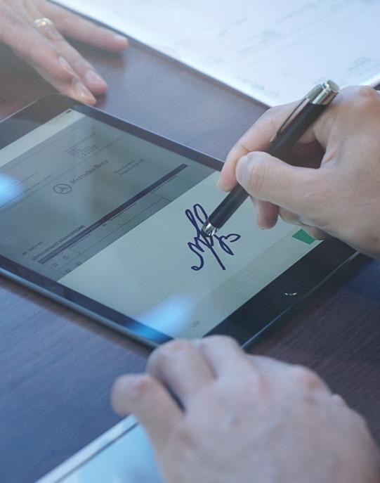 La solution e-signature